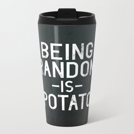 Random Metal Travel Mug