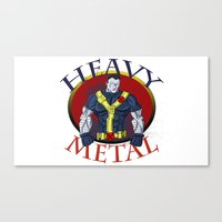 heavy metal Canvas Prints featuring Heavy Metal by Iron King