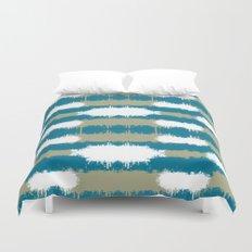 Color Splash Aqua Duvet Cover