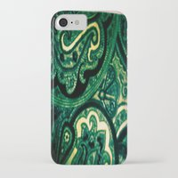 paisley iPhone & iPod Cases featuring Paisley by Kim Ramage