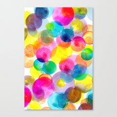 Confetti paint TWO Canvas Print