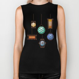 Tiki Lights Biker Tank