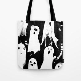 Ghost Splats Tote Bag