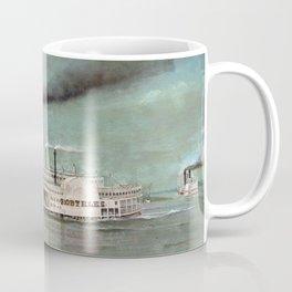 Steamboat Robert E. Lee Painting Coffee Mug