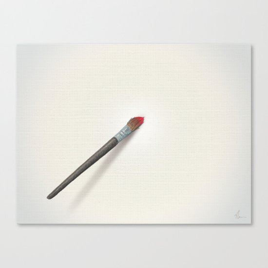 Blank Canvas - Painting Canvas Print
