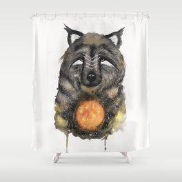 Copernicus the Sun Bear. Shower Curtain