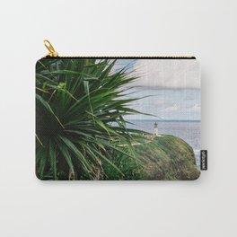 Kilauea Lighthouse Kauai Hawaii   Tropical Beach Nature Ocean Coastal Travel Photography Print Carry-All Pouch