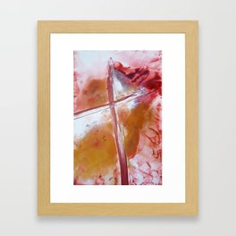 The Message Framed Art Print