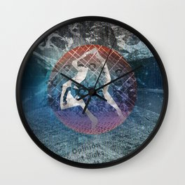 STAND GUARD Wall Clock