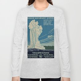 Yellowstone Works Progress Administration Long Sleeve T-shirt