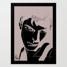 BnW1 Art Print