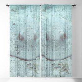 Watercolor Ray, Southern Stingray 13, St John, USVI Sheer Curtain