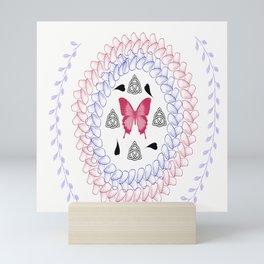 Zen Butterfly Mini Art Print