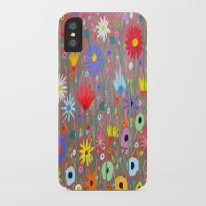 Flowers-Abstracts  iPhone X Slim Case