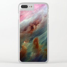 The Orion Gas Clouds Clear iPhone Case