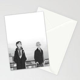 sherlock paperman Stationery Cards
