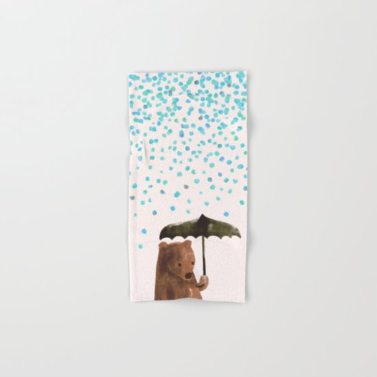 Rain rain go away Hand & Bath Towel
