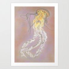 The Jellyfish Art Print
