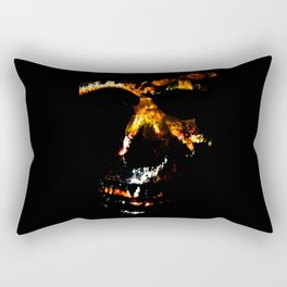 Death Charmer Rectangular Pillow