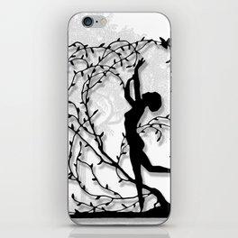 Dancing In Willows iPhone Skin