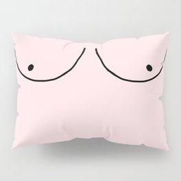pink boobs Pillow Sham