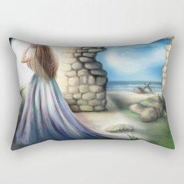 Waiting Rectangular Pillow