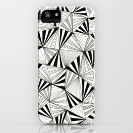 Party Triangles iPhone Case