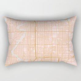 Tampa map Rectangular Pillow