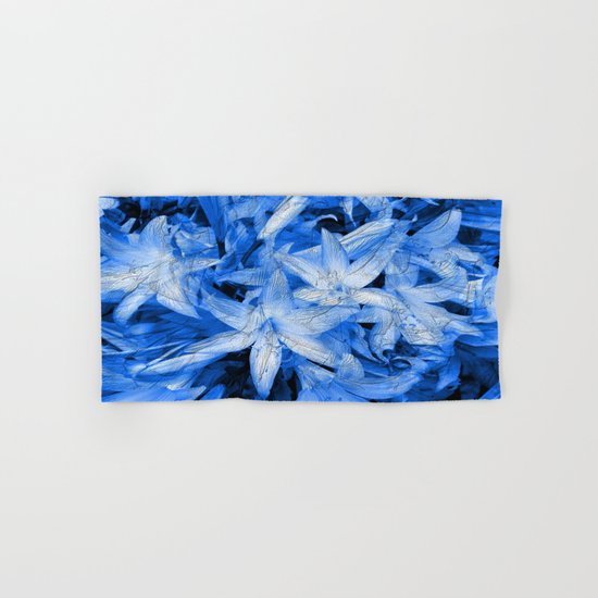 Blue... Hand & Bath Towel