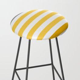 Stripes Gradient - Yellow Bar Stool