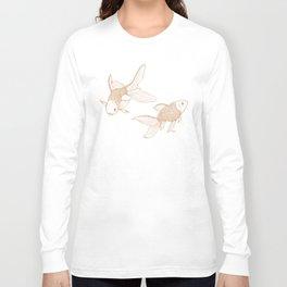 Vintage Goldfishes  Long Sleeve T-shirt