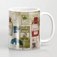 medicine Mugs featuring Dirty Medicine by Tim Schmidt X Design
