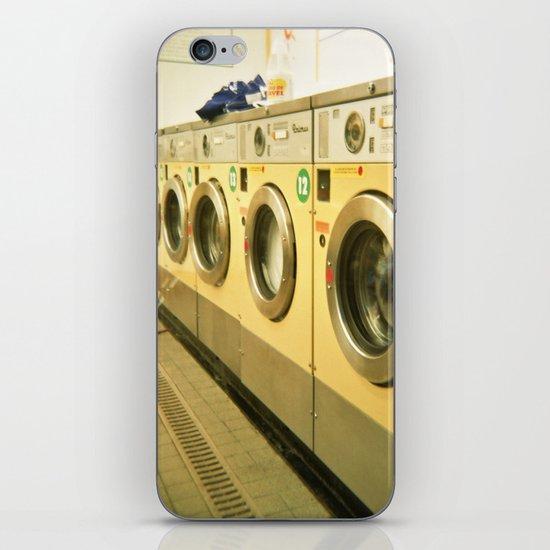Laundromat iPhone & iPod Skin