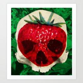 Skullberry Art Print