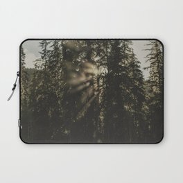 Sunset in the Woods - Nature Photography Laptop Sleeve