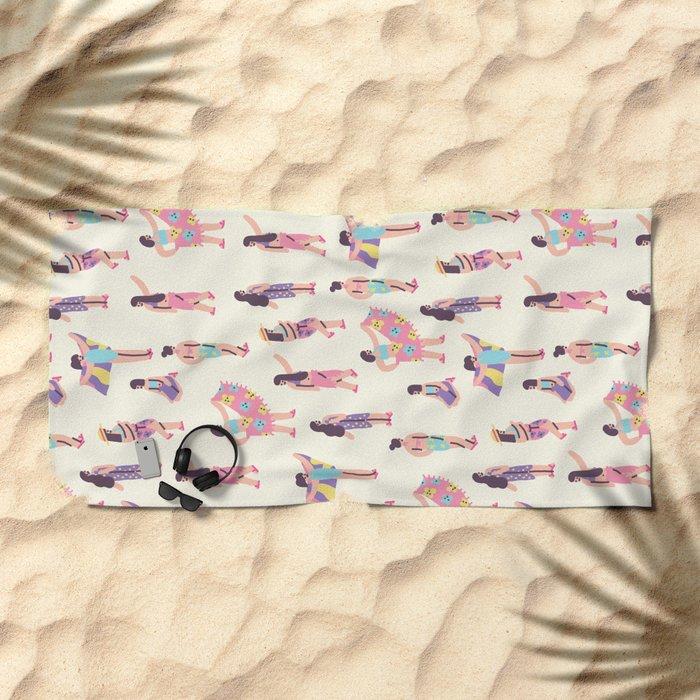 The Summer Girls Beach Towel
