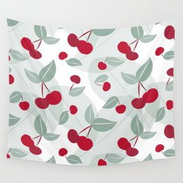 Cherry Time Wall Tapestry