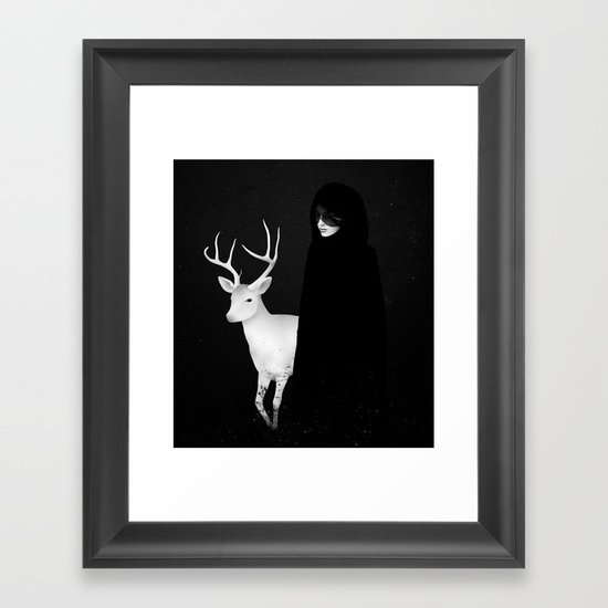 Absentia Framed Art Print