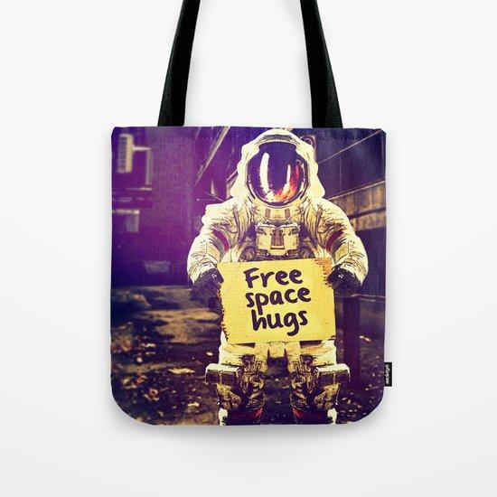 Space hugs Tote Bag