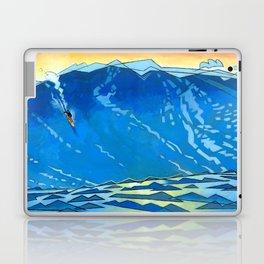 Big Wave Laptop & iPad Skin