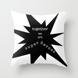 the wind never stops Throw Pillow