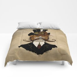 Fine Victorian Bulldog Comforters