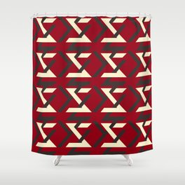 TYPOGRAPHY TTY N16 Shower Curtain