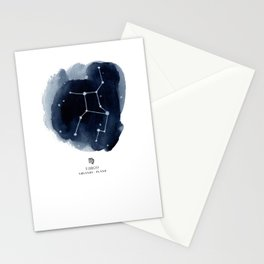 Zodiac Star Constellation - Virgo Stationery Cards