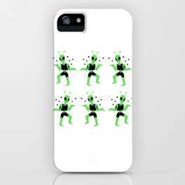 Alien Dance iPhone Case
