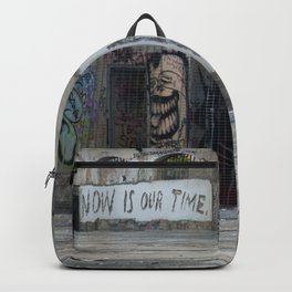 Now is our time Backpack