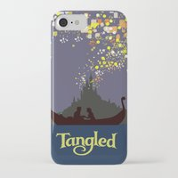 tangled iPhone & iPod Cases featuring Tangled by TheWonderlander