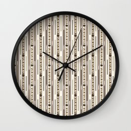 Chocolate Cookie Sticks Vertical Wall Clock