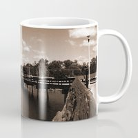 island Mugs featuring island by Christophe Chiozzi