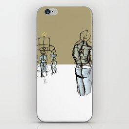Glass people iPhone Skin